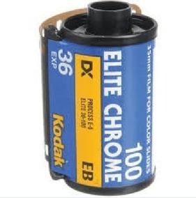 Kodak Elite Chrome 36 Iso 100 Cromos Slide Filme Fotográfico