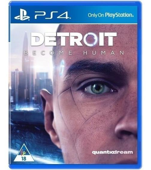 Game Detroid Become Human Ps4 Midia Fisica Lacrado Promoção
