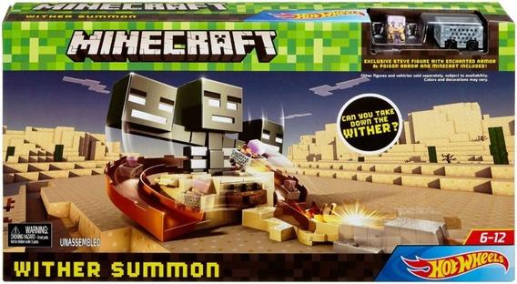 Minecraft Whiter Summon Hot Wheels Pista Original