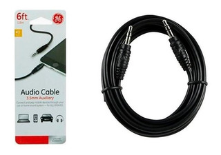 Cable De Audio Auxiliar 3.5mm De 1.8 Metros General Electric