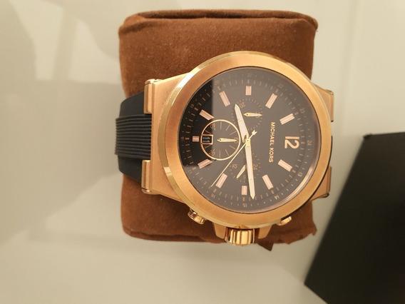 Relógio Michael Kors Mk8445 (masculino) - Dourado E Preto