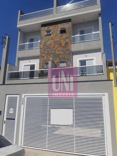 Cobertura Com 2 Dormitórios À Venda, 100 M² Por R$ 360.000 - Vila Leopoldina - Santo André/sp - Co0804