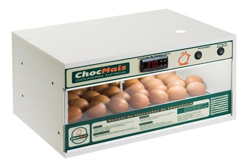 Imagem 1 de 6 de Chocadeira Automatica 48 Ovos Com Ovoscópio Chocmais 220 V