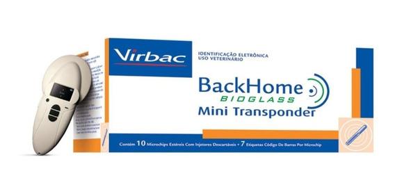 Leitor De Microchip Virbac Backhome V800