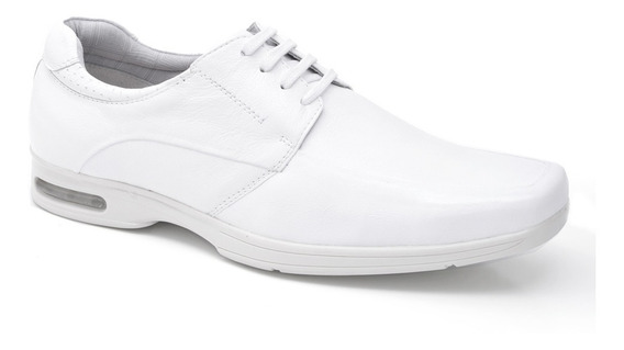 Sapato Social De Amarrar Masculino Em Couro Fork 8918 - Bran