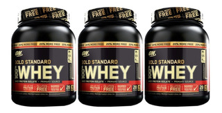3x Whey Gold Standard 907g + 20% ( 1090g ) Optimum