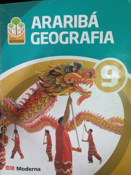 Araribá Geografia 9 Ano- Projeto Araribá