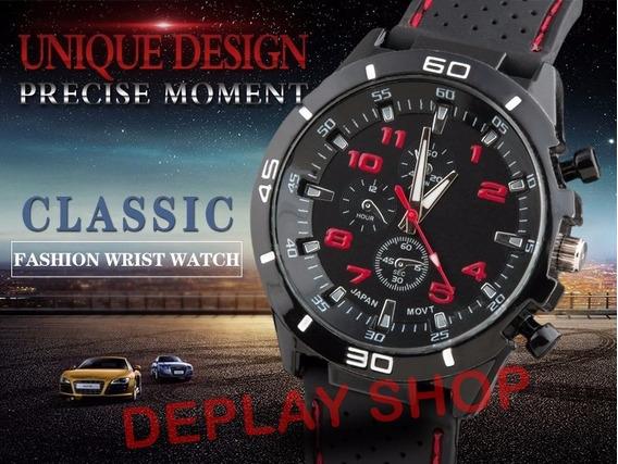 Relógio Masculino Esportivo De Pulso Gt Gran Touring