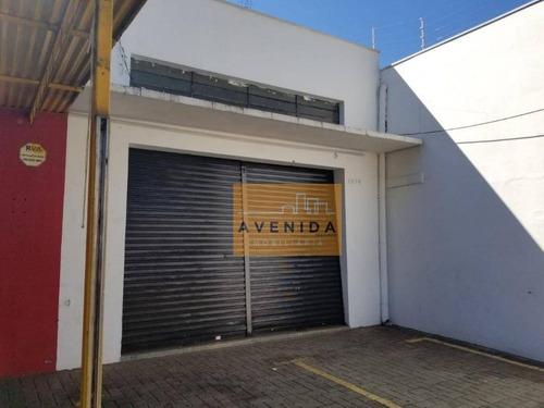 Imagem 1 de 2 de Salão Para Alugar, 125 M² Por R$ 6.000,00/mês - Centro - Paulínia/sp - Sl0082