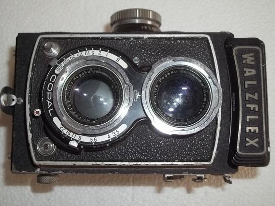 Antiga Câmera Walzflex Maquina Fotografica Defeito