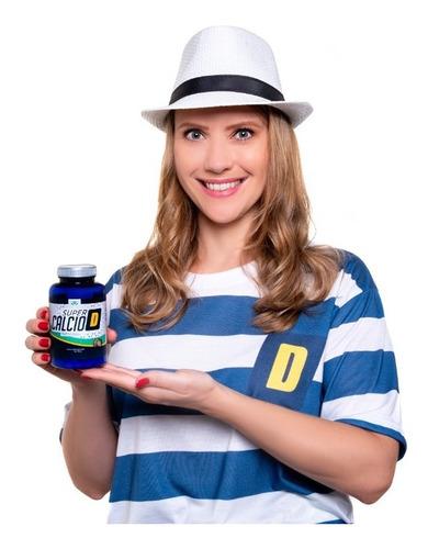 Imagem 1 de 5 de Cálcio D Kit Com 06 Un - Super Cálcio D Mais Saúde Para Você