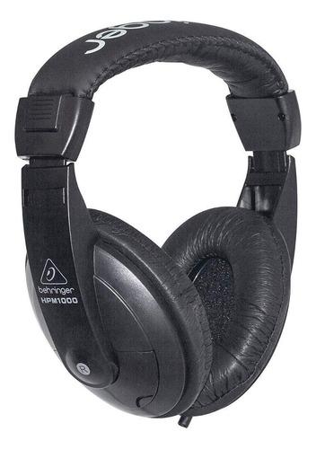 Imagen 1 de 3 de Audífonos Behringer HPM1000 black