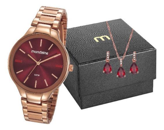 Relógio Rose Gold Mondaine