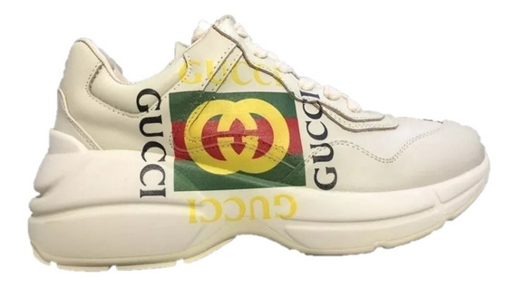Tenis Sneakers Gucci Rhyton Logo G Envio Gratis