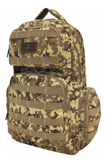 Mochila Tactica Militar Trekking Seguridad Camuflada 30 L