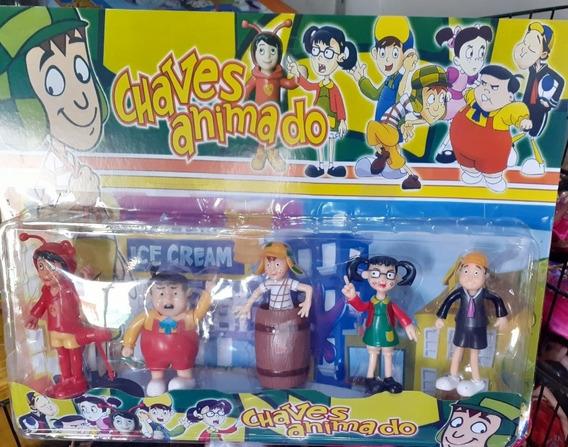 Turma Do Chaves Miniaturas- Kit Com 5
