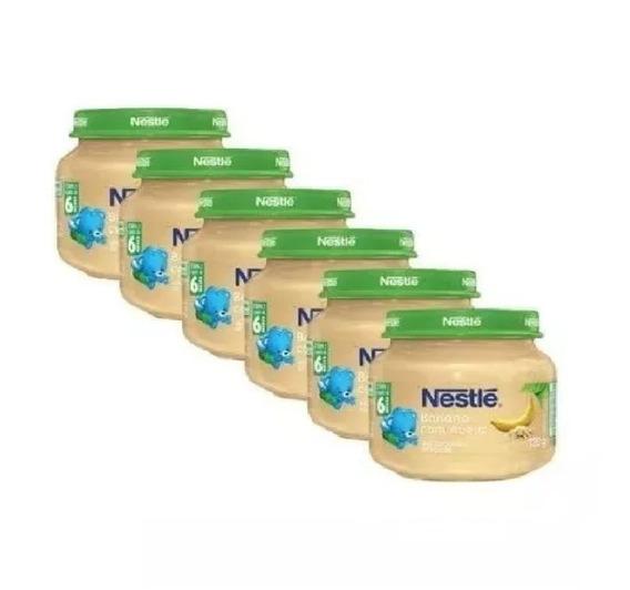 Papinha Nestlé Sobremesa Banana Com Aveia 12 Potes Promoção