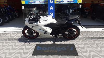 Ninja 250r 2011 Branca Único Dono Impecável