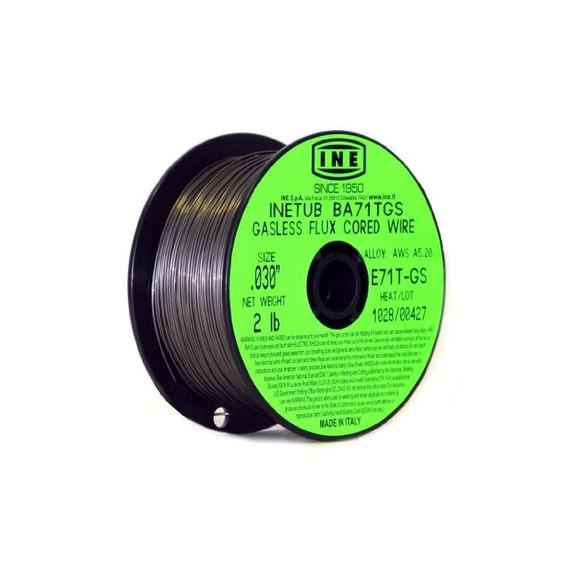 Inetub Ba71tgs .030-inch En Alambre De Soldadura De Flujo De