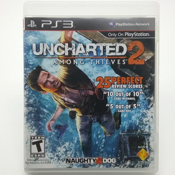 Uncharted 2 Among Thieves Ps3 Mídia Física S/ Manual Usado