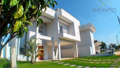 Casa Residencial À Venda, Condomínio Terras Do Cancioneiro, Paulínia - Ca1002. - Ca1002