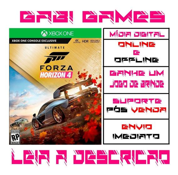 Forza Horizon 4 Ultimate Edition Xbox One Offline + Brinde