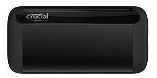 Ssd Portatil De 500 Gb X8 Crucial A Rrrr Hasta 1050mb / S A