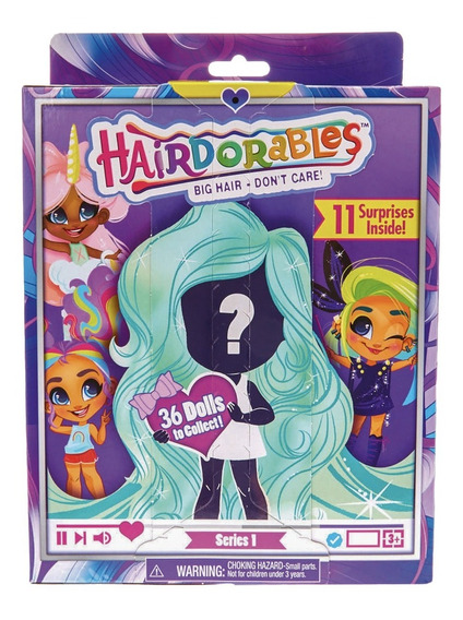 Hairdorables Bonecas Surpresas Colecionáveis Dtc