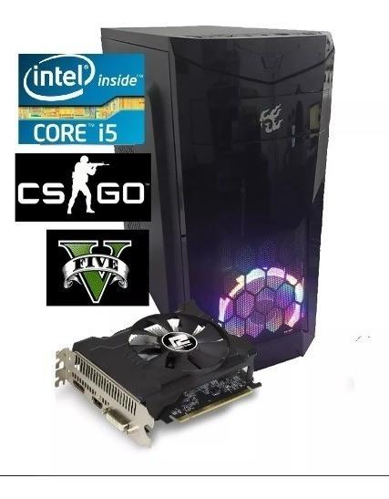 Pc Cpu Gamer Intel Core I5 3.6ghz 8gb Hd Ou Ssd Rx550 2gb