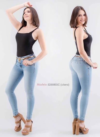 Lote 10 Pantalones Corte Colombiano Savi Jeans Talla 5