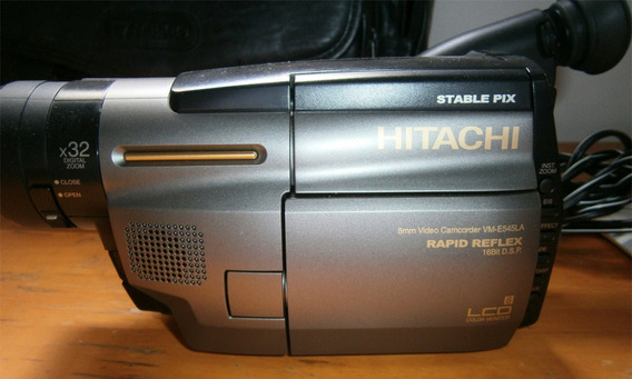 Camara Super 8 De Colección Hitachi Vm-e545la