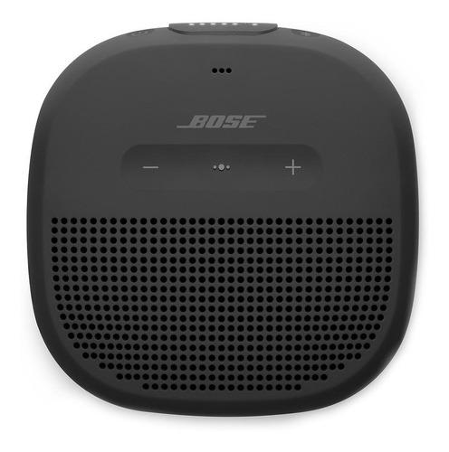 Bocina Bose SoundLink Micro portátil con bluetooth negra