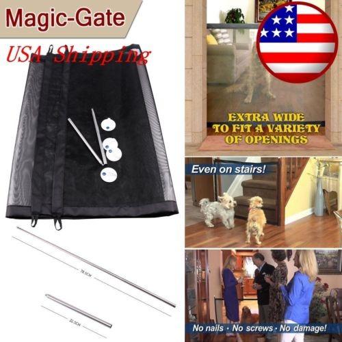 Imagen 1 de 5 de Portátil Plegable Seguridad Puerta Mágica Guardia Cerca Del