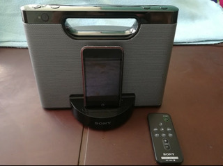 Speaker Sony Para Ipod/iphone + Ipod De 16gb