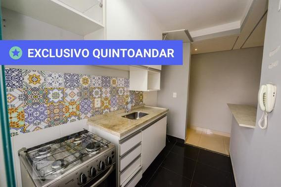 Apartamento No 4º Andar Com 2 Dormitórios E 1 Garagem - Id: 892965185 - 265185