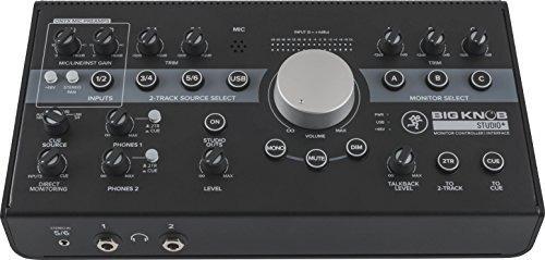 Interfaz De Audio Mackie, 4x3 Big Knob Studio Plus