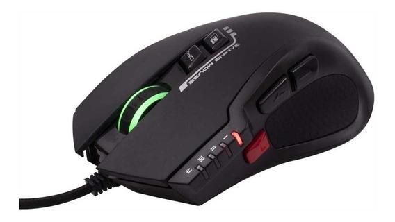 Mouse Gamer Óptico Usb 4000 Dpi Led Rgb Weapon Ms 317 Oex