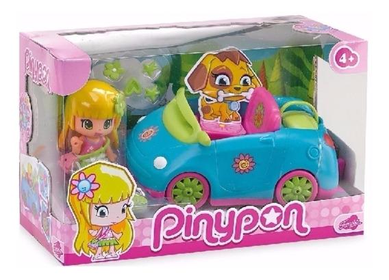 Pinypon Vehiculo Auto - O Moto Con Figuras Y Accesorios