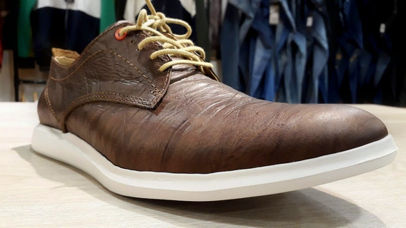 Zapato Cuero Hombre Casella Uomo Ultralivianos