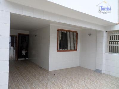 Casa Em Praia Grande, 02 Dormitórios, Com Churrasqueira No Caiçara Ca0050 - Ca0050