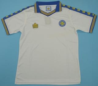 Camisa Retrô Leeds United (inglaterra) 1975 / 1976 - Unif. 1