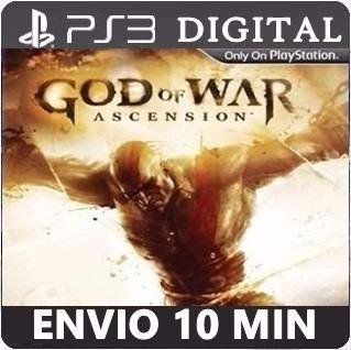 God Of War Ascension - Ps3 - Cód Psn - Pt Br -