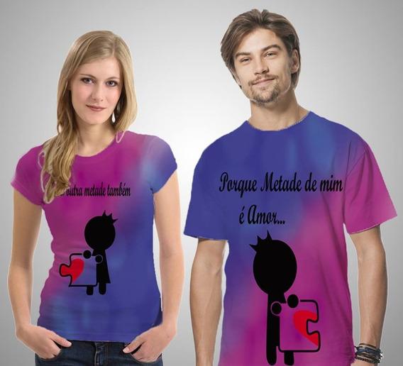 Camisetas Casal - Metades De Amor