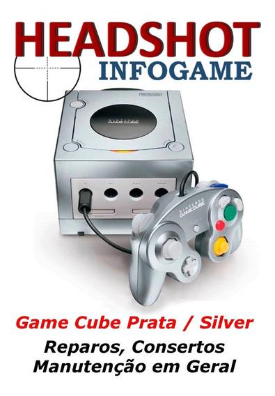 Consertos Reparos Manutenção Nintendo Game Cube Prata Silver