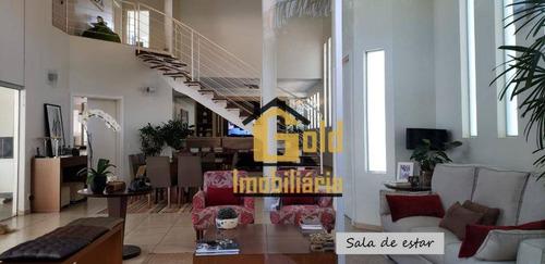 Casa Com 3 Dormitórios À Venda, 370 M² Por R$ 850.000 - City Ribeirão - Ribeirão Preto/sp - Ca0882