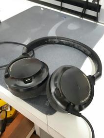 Headphone Philips Fidelio Fone Usado Isolamento Externo