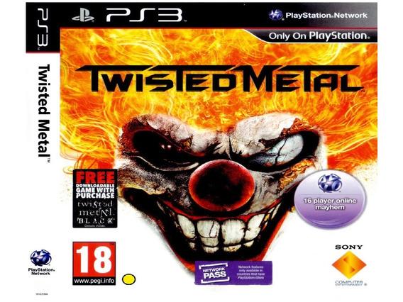 Twisted Metal Playstation 3 Psn Promoção Twisted Metal Ps3