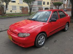 Hyundai Accent Ls Mt1500cc Rojo Sa