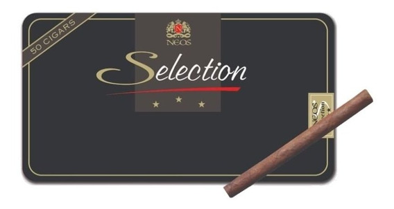 Cigarros Neos Seleccion Lata X 50 Puritos Origen Belgica