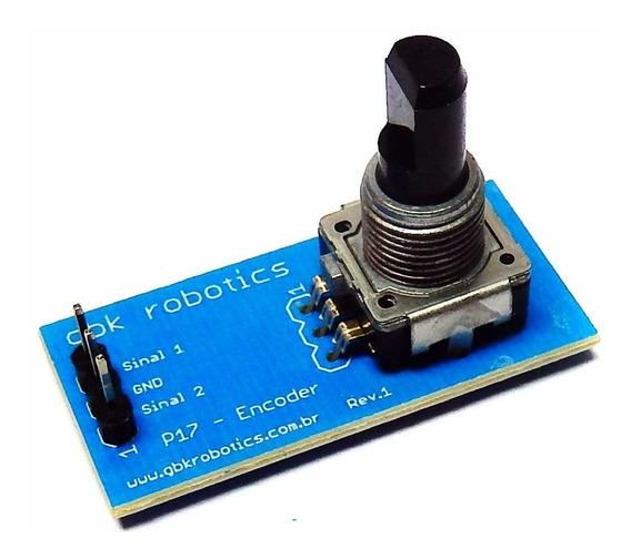 Modulo Encoder 25 Posições P17 001236 Gbk Robotics Arduino